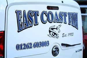 East Coast Fish Van Graphic